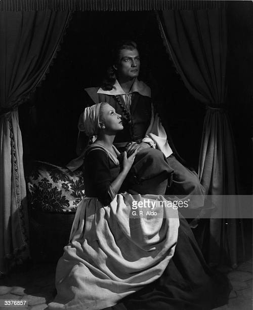 French actors Jean Marais and Josette Day star in Jean Cocteau's beautifully surreal film 'La Belle Et La Bete' based on the children's fairy tale...