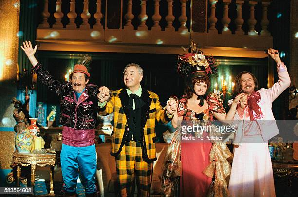 French actors Jean Rochefort as Eddie Carpentier Philippe Noiret as Victor Vialat Catherine Jacob as Carla Milo and JeanPierre Marielle as Georges...