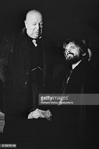 French actors Louis Seigner and Jacques Weber perform a dress rehearsal of Crime and Punishment The play based on Fyodor Dostoyevsky's 1866 novel is...