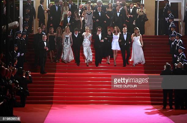 French actors Marina Hands and Patrick Chesnais Spanish actress Olatz Lopez Garmendia Canadian actress MarieJosee Croze US director Julian Schnabel...