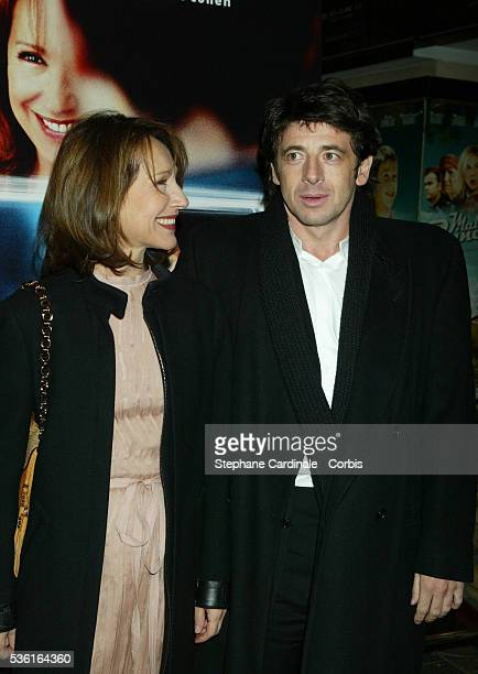 French actors Nathalie Baye and Patrick Bruel attend the premiere of 'Une Vie à T'Attendre'