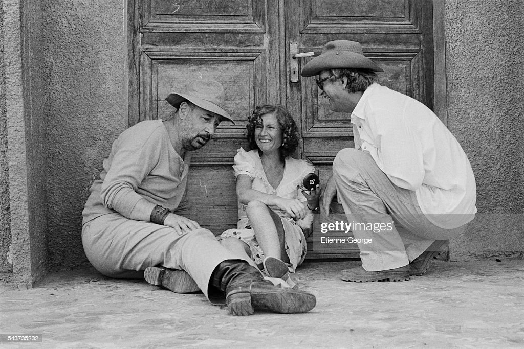 French actors philippe noiret and isabelle huppert with director and news photo getty images - Isabelle huppert coup de torchon ...