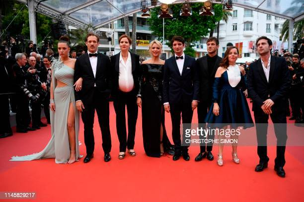 French actress Adele Exarchopoulos French actor Paul Hamy French film director Justine Triet Belgian actress Virginie Efira FrenchCanadian actor...