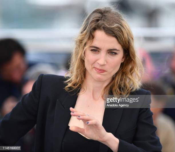 French actress Adele Haenel poses during the photocall for the film 'Portrait de la jeune fille en feu' at the 72nd annual Cannes Film Festival in...