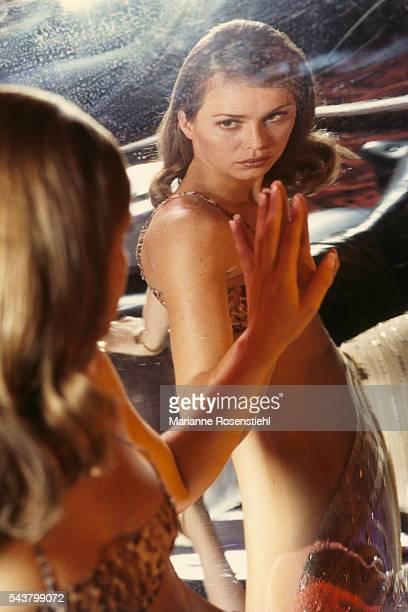 French actress Agathe de La Fontaine