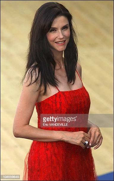 French actress Alessandra Martinez in Venice Italy on August 27th 2003