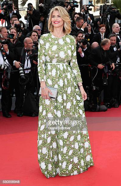 French actress Alice Taglioni attends the 'Cafe Society' premiere and the Opening Night Gala during the 69th annual Cannes Film Festival at the...