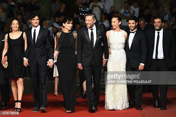 French actress Amanda Added, French actor Louis Garrel, French actress and director Maiwenn, French actor Vincent Cassel, French actress Emmanuelle...