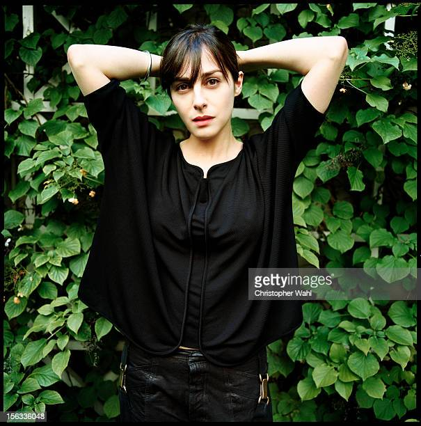French actress Amira Casar is photographed for Self Assignment on September 1 2009 in Toronto Ontario
