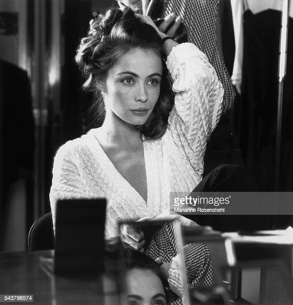 French actress and ambassador for Christian Dior Emmanuelle Beart
