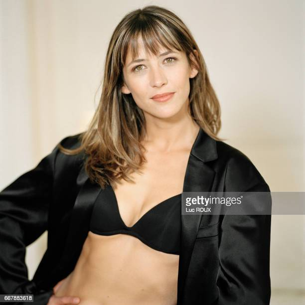 French actress and director Sophie Marceau.