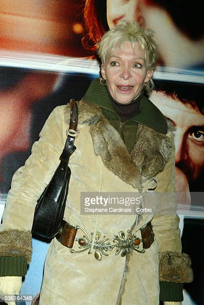 french actress and director Toni Marshall attends the premiere of 'Une Vie à T'Attendre'