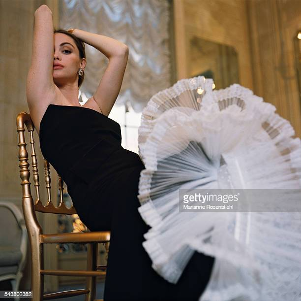 French actress and face of Christian Dior Emmanuelle Beart