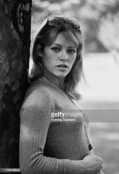 French actress and fashion model Nathalie Delon UK 25th October 1968