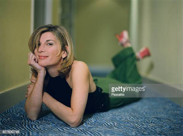 French actress and humorist Michele Laroque