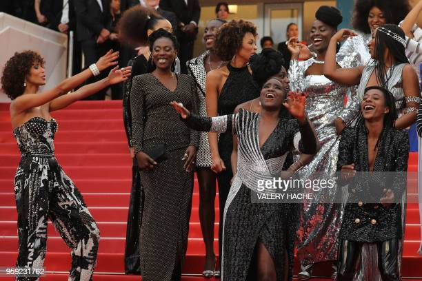 French actress and Miss France 2000 Sonia Rolland French actress and writer Mata Gabin French writer Rachel Khan French actress Karidja Toure French...