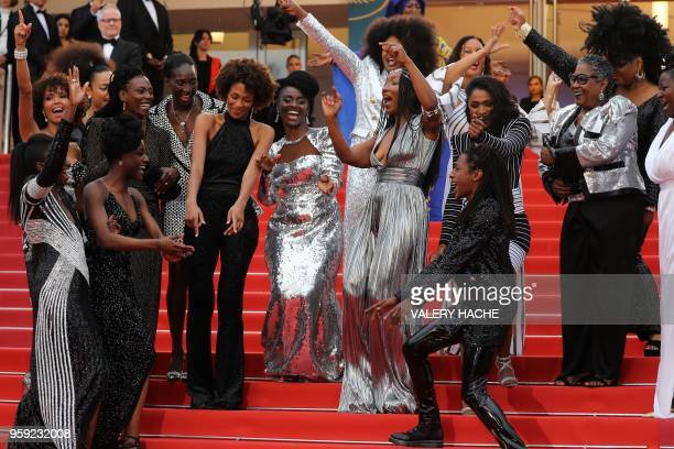 French actress and Miss France 2000 Sonia Rolland French actress and writer Mata Gabin French actress Eye Haidara French writer Rachel Khan French...