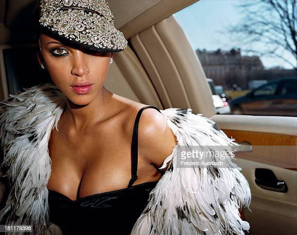 French actress and model Noemie Lenoir is photographed for Marie Claire France on April 1 2007 in Paris France PUBLISHED IMAGE