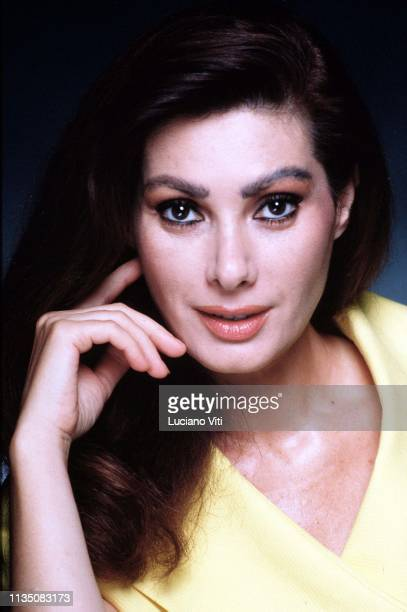 French actress and movie producer Edvige Fenech Rome Italy circa 1991