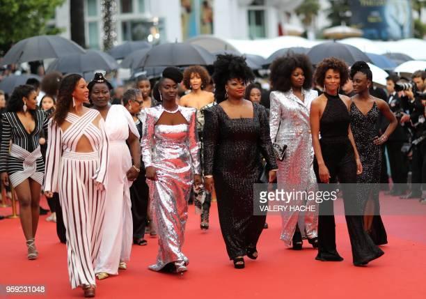 French actress and producer France Zobda French actress Aissa Maiga French actress Sabine Pakora French actress Maimouna Gueye French writer Rachel...