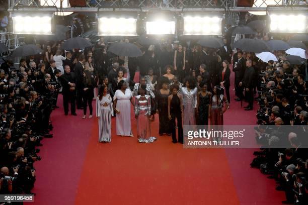 French actress and producer France Zobda FrenchCameroonian MariePhilomene Nga French actress Aissa Maiga French actress Sabine Pakora French writer...