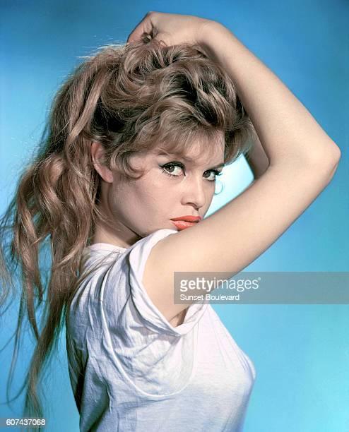 French actress and sex symbol Brigitte Bardot