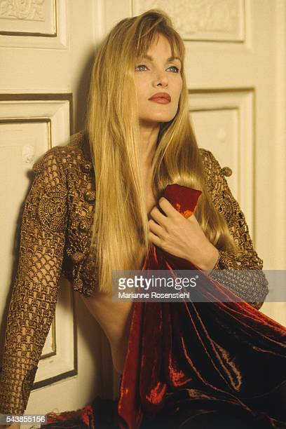 French Actress and Singer Arielle Dombasle