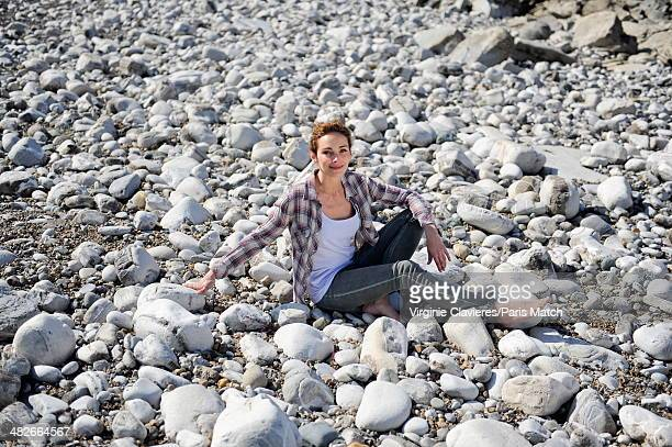 French actress and singer Claire Keim is photographed for Paris Match on March 17 2014 in SaintJeandeLuz France