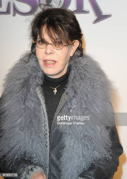 French Actress and singer dany attends the premiere of the directors Claude Berry and Francois Dupeyron's film 'Tresor' at Cinema Gaumont Capucine on...
