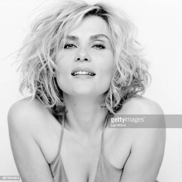 French actress and singer Emmanuelle Seigner