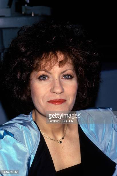 French Actress Andrea Ferreol Paris March 31 1988