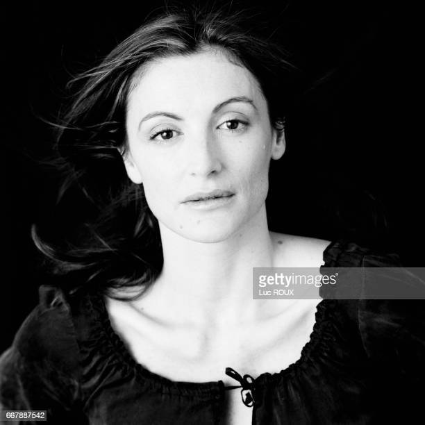 French actress Anne Brochet