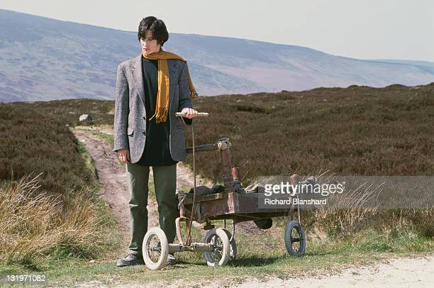 French actress Anne Brochet stars in the film 'Driftwood', 1997.