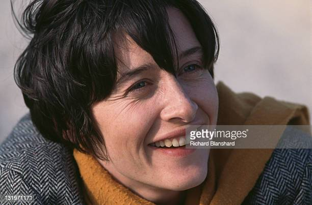 French actress Anne Brochet stars in the film 'Driftwood' 1997