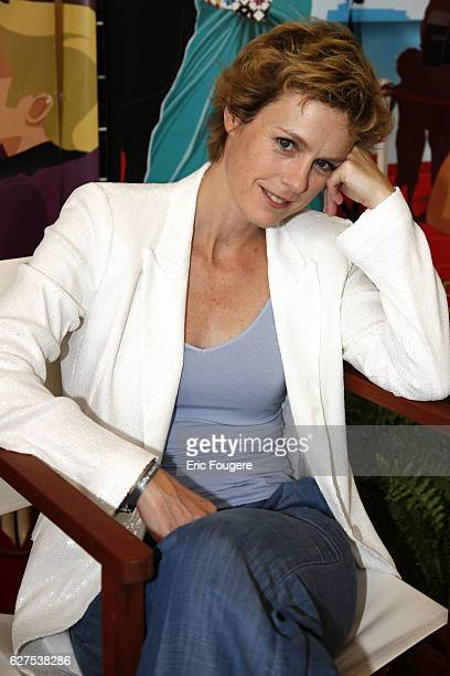 French actress Anne Richard at the Cap d'Agde Film Festival 2009