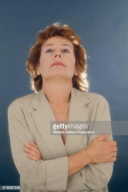 French actress Annie Girardot
