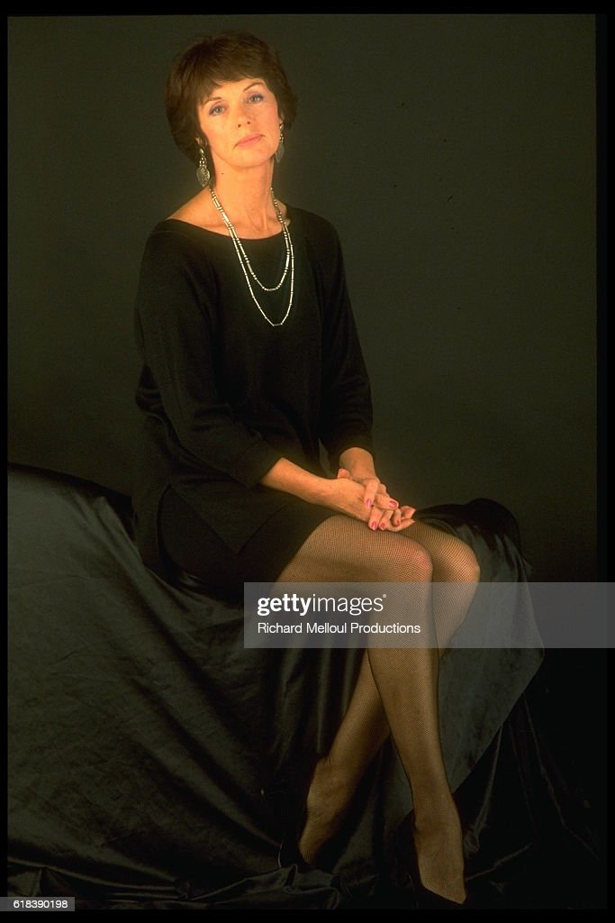 French Actress Anny Duperey : Photo d'actualité