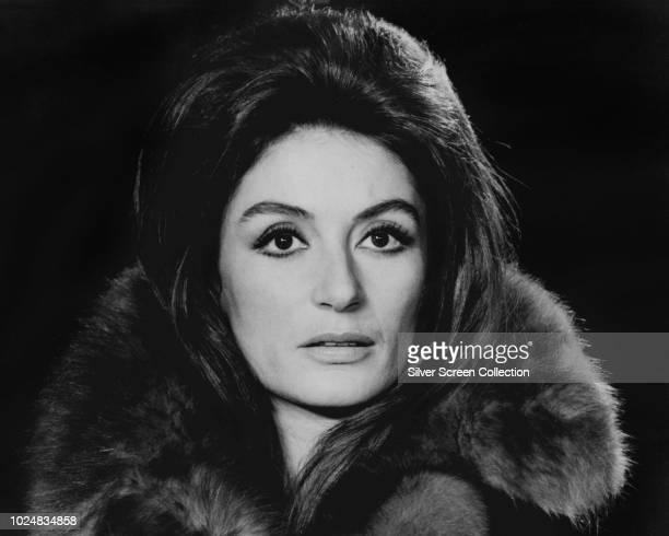French actress Anouk Aimée, circa 1965.