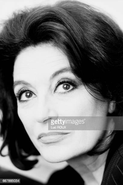 French actress Anouk Aimée