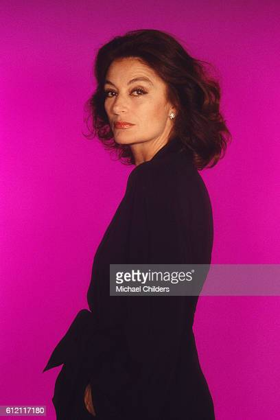 French Actress Anouk Aimee