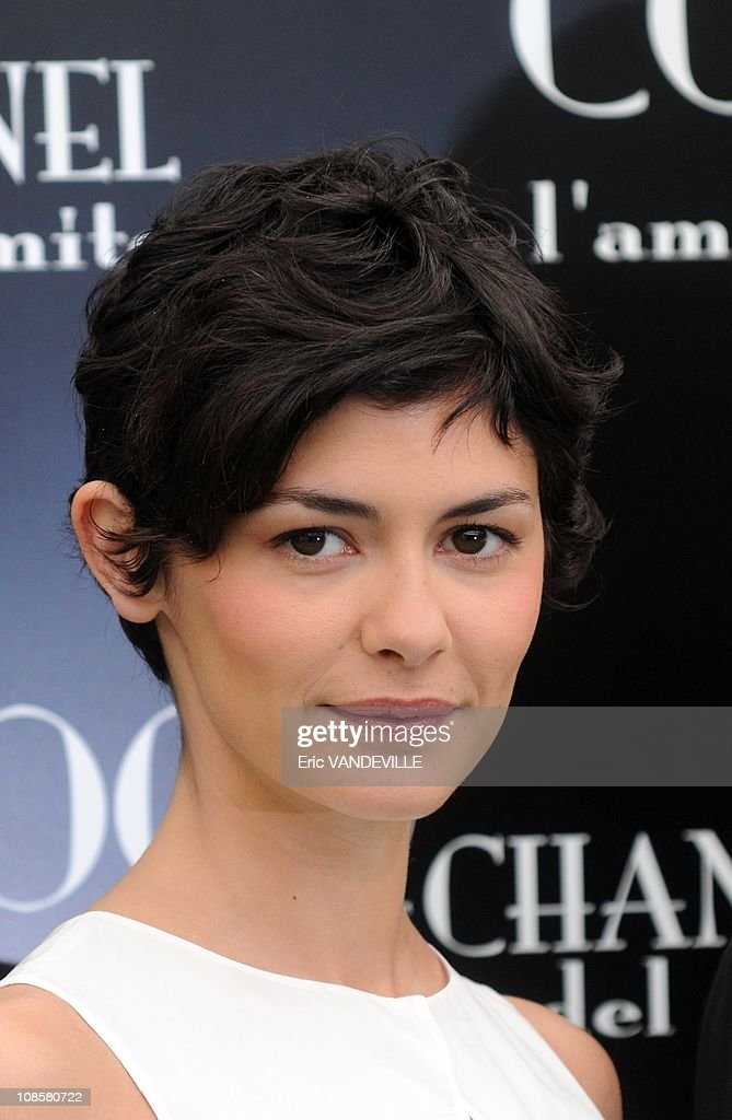 Photo-call of ' Coco Before Chanel ' film with Audrey Tautou, French actress, in Rome, Italy on May 06, 2009. : News Photo