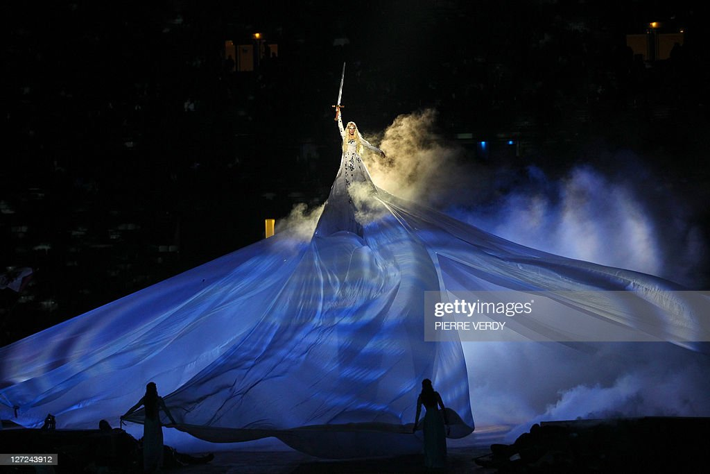 French actress Aurore Tomé as the Lady o : News Photo