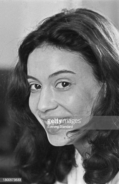 French actress Béatrice Romand, UK, 4th May 1973.