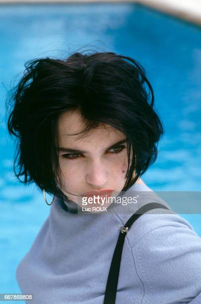 French actress Beatrice Dalle at the Cannes Film Festival
