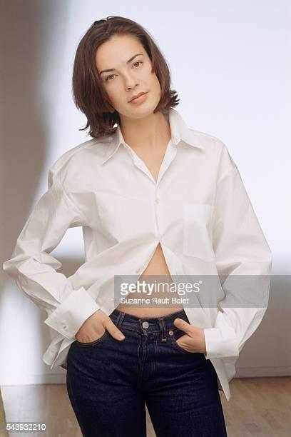French Actress Benedicte Delmas