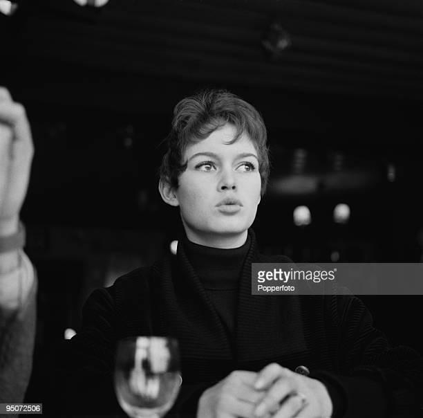 French actress Brigitte Bardot 1955