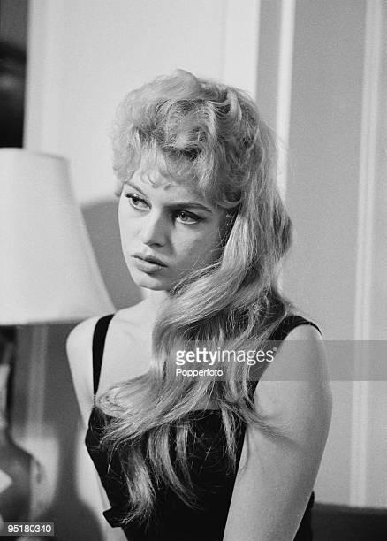 French actress Brigitte Bardot 1956
