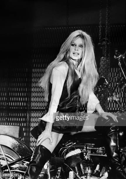 French actress Brigitte Bardot during rehearsals for a New Year's Eve TV show at the ORTF studios in Paris 3rd December 1967CREDIT ORTF