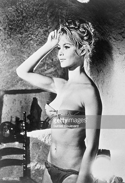 French actress Brigitte Bardot is Ursula in The Night Heaven Fell written and directed by Roger Vadim