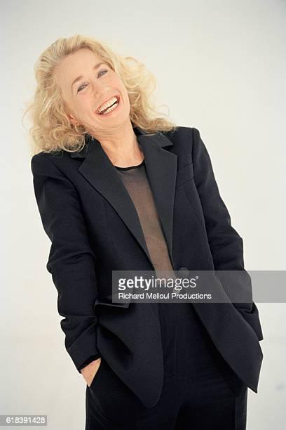 French Actress Brigitte Fossey